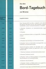 Ein Blick in alte Ford-Unterlagen zum Projekt Mistral 300.000.