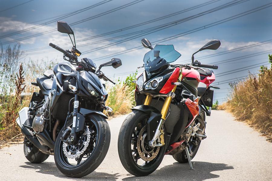 Kawasaki Z 1000 Versus Bmw S 1000 R
