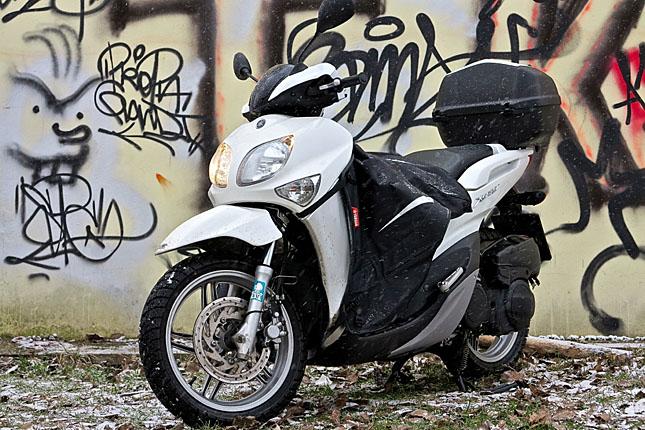 155 Kubik und 15,5 PS: Der Yamaha Xenter.