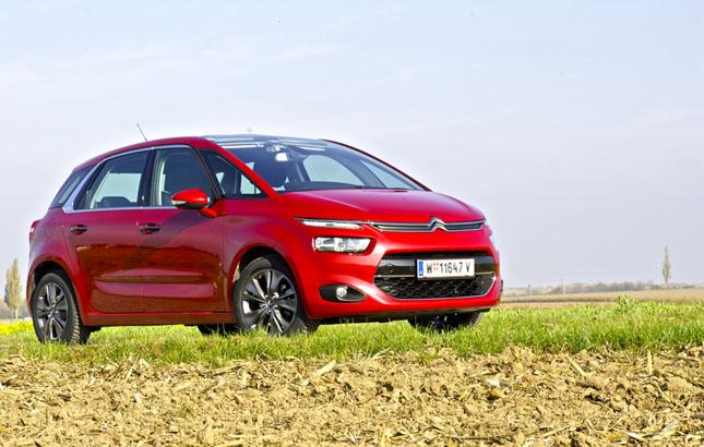 Citroën C4 Picasso – der neue Familienvan vereint futuristisches Design mit großem Raumangebot.