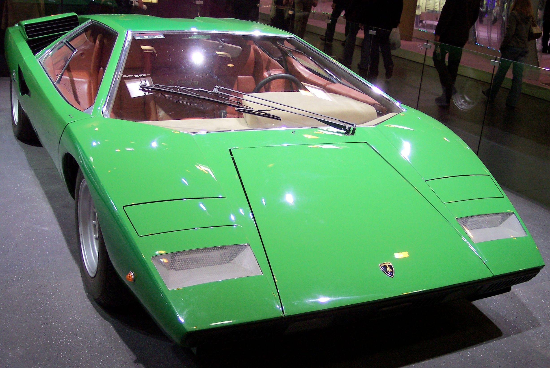 Lamborghini_Countach_green_vr_TCE Extraordinary Lamborghini Countach Schwer Zu Fahren Cars Trend