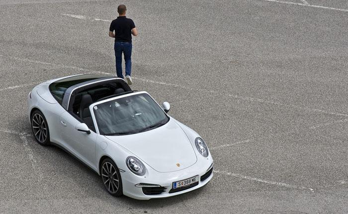Porsche 911 Targa 4 PDK – am ehesten ein 911 Ur-Targa.
